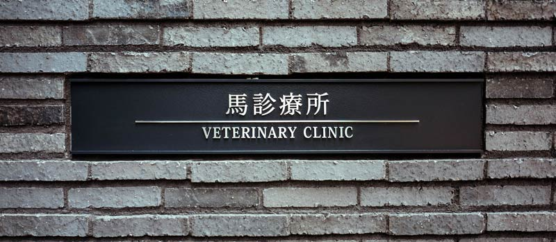 The new Veterinary Clinic at Baji Koen was built specially for the Tokyo 2020 Olympic Games.