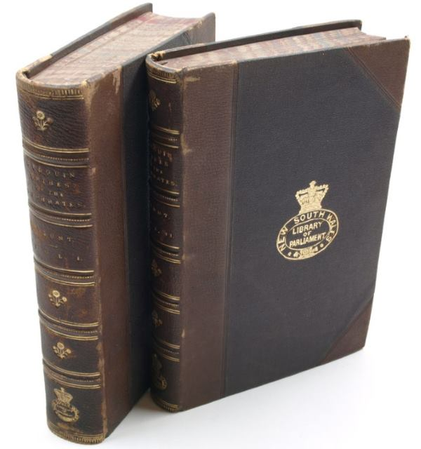 A first edition of Lady Anne Blunt's Bedouin Tribes of the Euphrates, published in two volumes in 1879, is among the works for sale by Asher Rare Books.