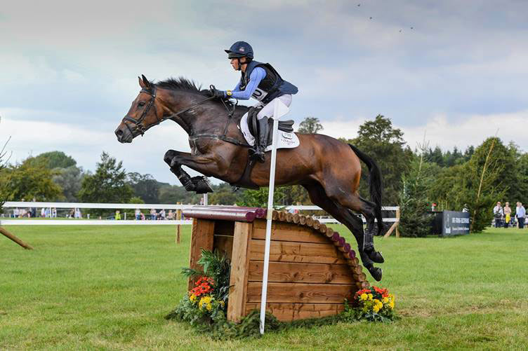 Ros Canter and Lordships Graffalo are third after the CCI4*-L cross-country at Blenheim.