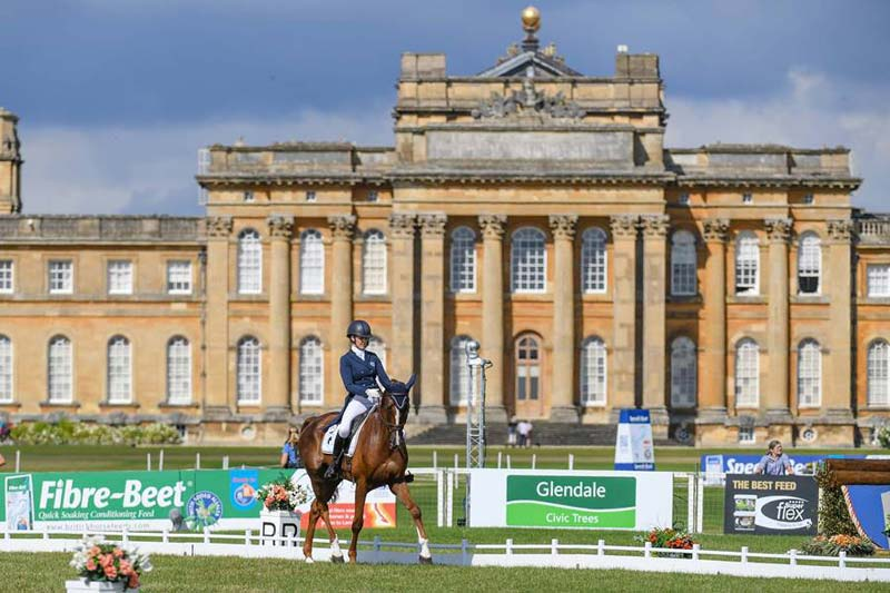 Yasmin Ingham leads after two days of dressage in the CCI4*-L at Blenheim.