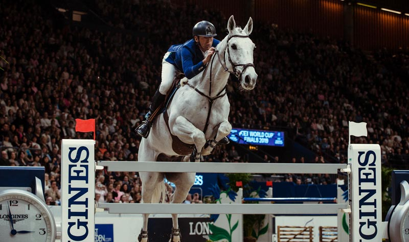 Five-time Olympian Peder Fredricson has risen to the top of showjumping's Longines World Rankings.