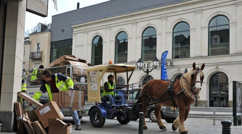 The contribution of working equines to the green energy initiative has been highlighted at an EU event.