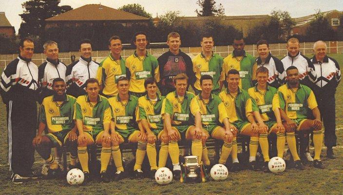 1995-6 ICIS Division Three Champions