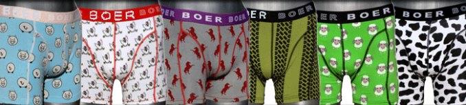 Boer Boer boxershort boxer hipster met paarden, schapen, trekkers