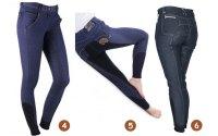 jeans rijbroek met een extra