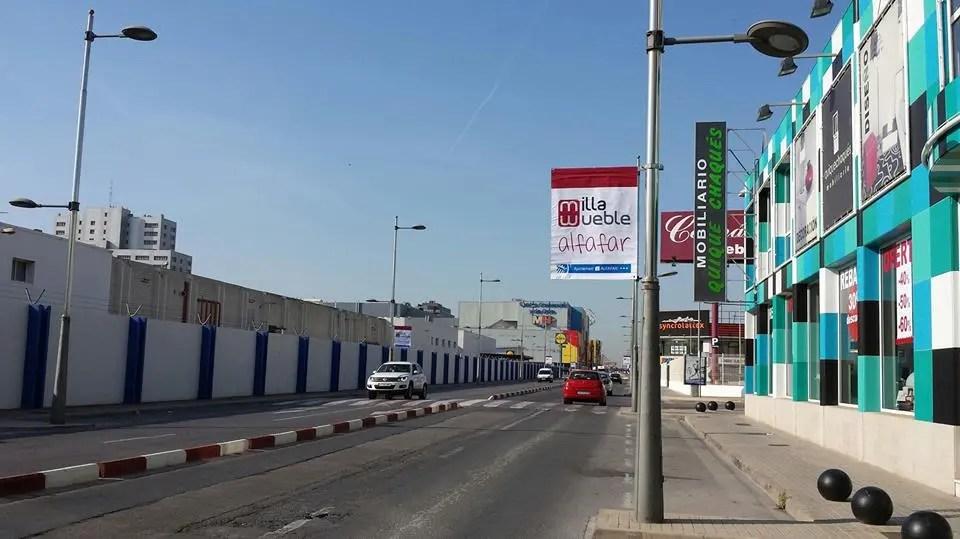 'Alfafar, Milla del Mueble' sale a la calle con motivo de la próxima apertura de Ikea