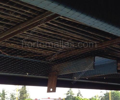 Instalación de malla pajarera en contrucciones: malla anti palomos