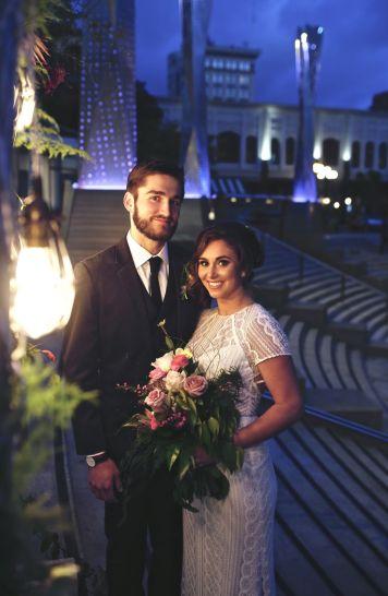 Horton Plaza Park Wedding Style Shoot.2