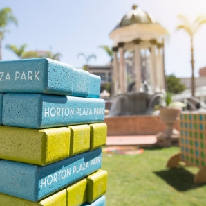 Community events at Horton Plaza Park