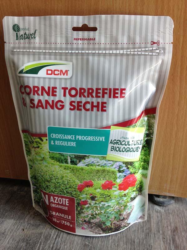Corne Torrefiée & Sang Séché