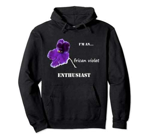 African Violet Enthusiast Pullover Hoodie