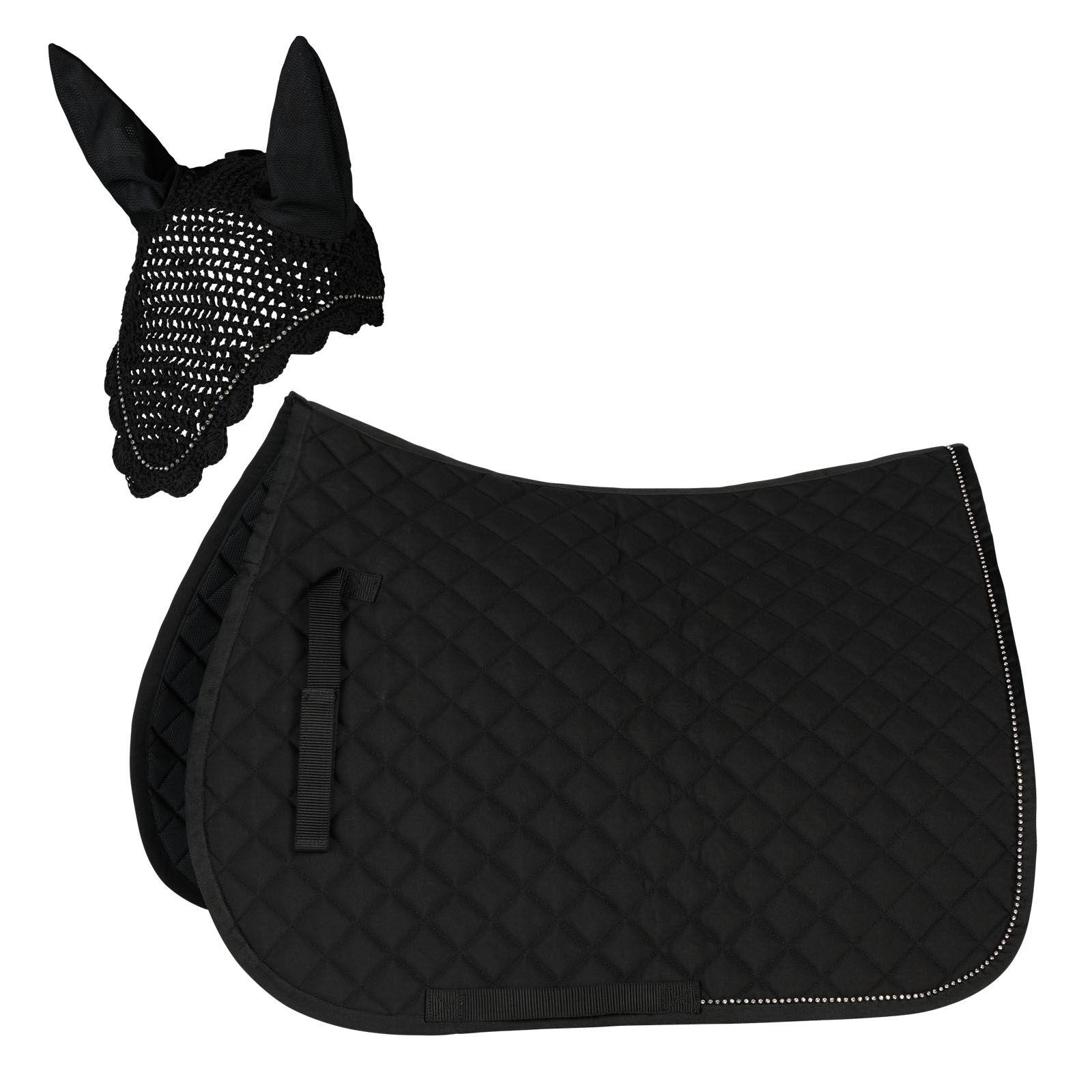 tapis de selle et cheval chabraque