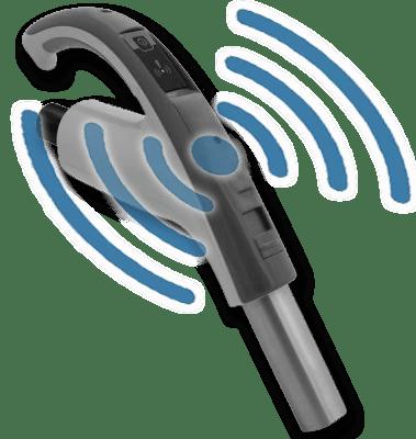 SELF-RETRACTING HOSE RF HANDLE REMOTE ON/OFF