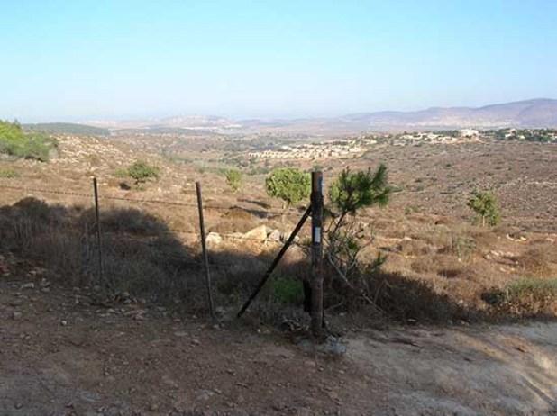 נוף משביל ישראל בהר ידעיה לכיוון הושעיה