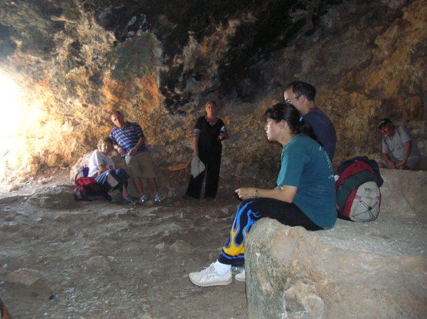 בית הבד במערה בתל יודפת