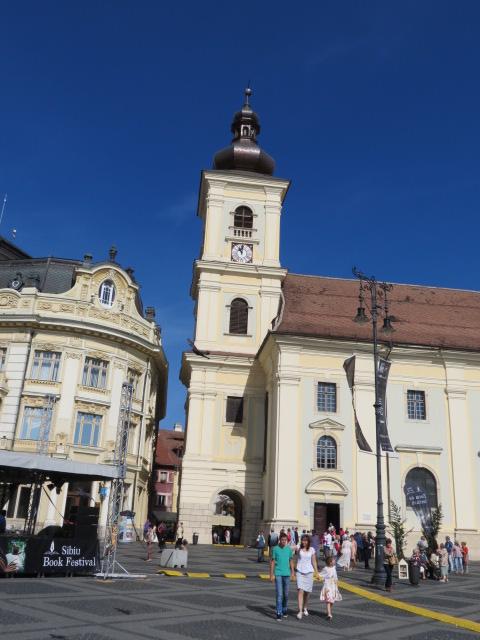 The Holy Trinity Roman Catholic Church, Sibiu