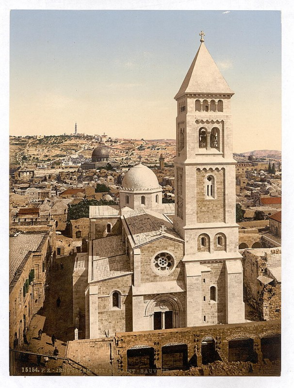 כנסיית הגואל ב-1900