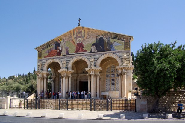 Jerusalem_Church_of_all_nations - ירושלים הנוצרית