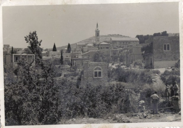 אזור עין כרם, כפי שצולם ב-6 במאי 1949
