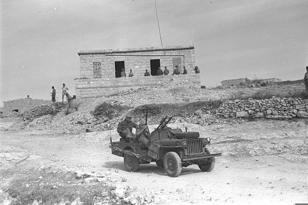 IDF soldiers in Sa'sa', 30 October 1948