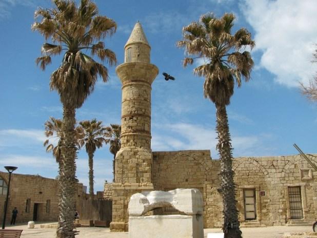 Bosnian mosque in Caesarea port