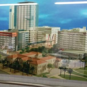 מגדל סמי עופר (בכניסה לבית חולים רמב״ם)