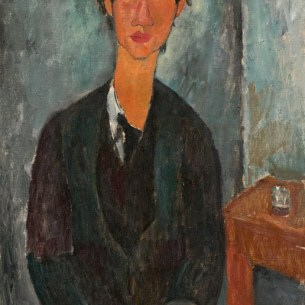 Amedeo Modigliani, Chaim Soutine, 1917, National Gallery of Art