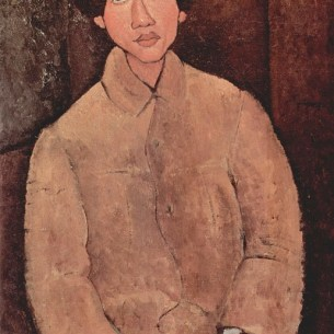 Amedeo Modigliani, Portrait of Soutine, 1916