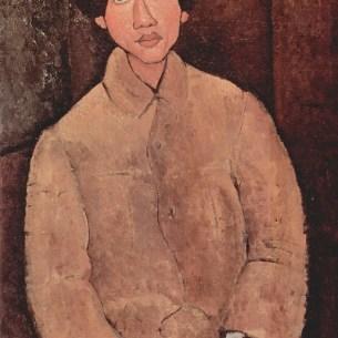 Amedeo Modigliani, Portrait of Soutine, 1916