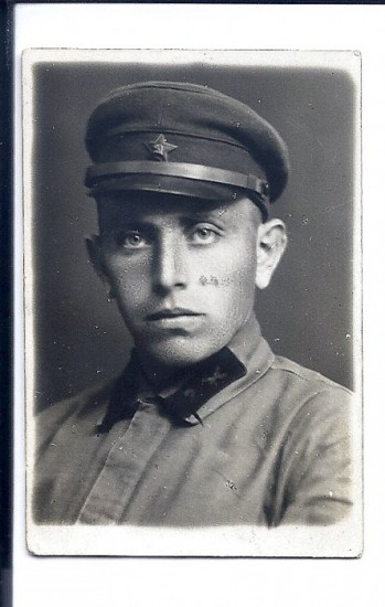 ישעיהו יצחק במדים - Yeshayahu Yitzhak in uniform