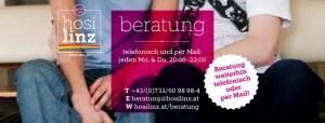 Beratung am Montag @ HOSI Linz | Linz | Oberösterreich | Österreich