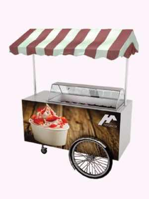 Ice cream trolley HOSINOX