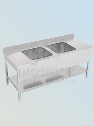 double bowl sink HOSINOX