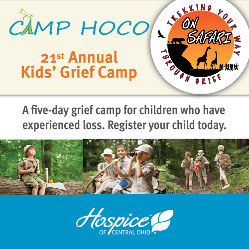 Hospice Of Central Ohio Helps Kids Experiencing Grief At Camp HOCO