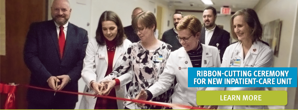 ohio's hospice ribbon cutting at the Ohio State University weaner medical center