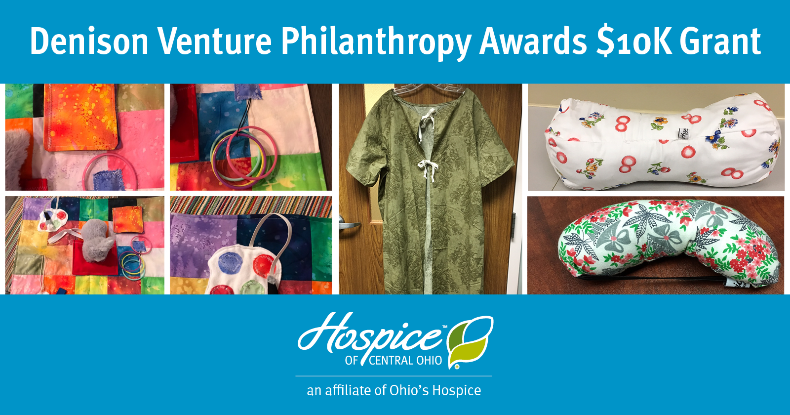 Denison Venture Philanthropy Awards Hospice Of Central Ohio $10K