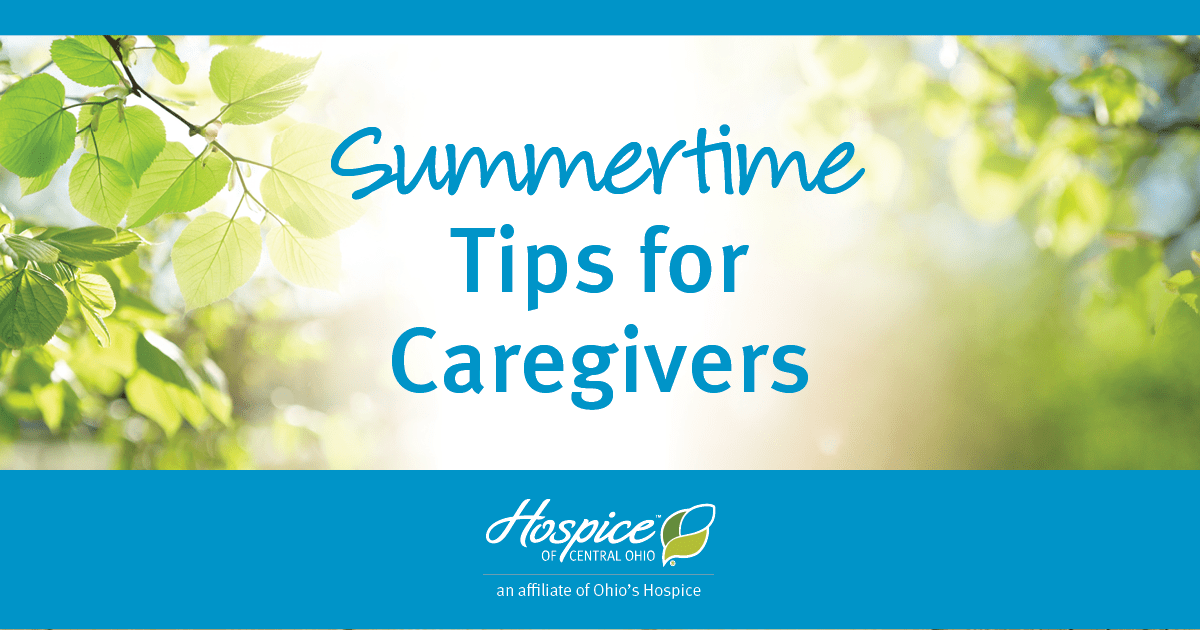Summertime Tips For Caregivers