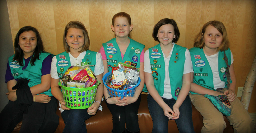 Thank You To Girl Scout Troop 30429!