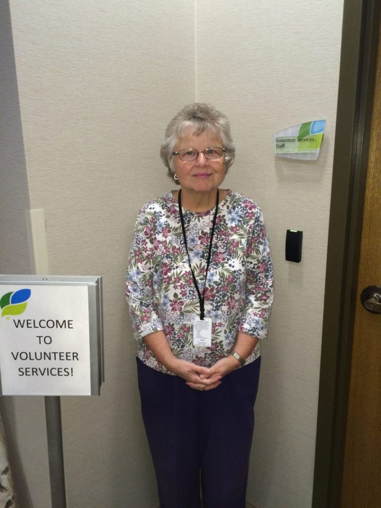 Ms. Rutherford - Heart of a Volunteer