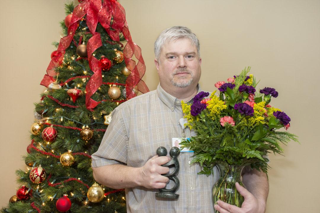 Doug Arnett Presented Carnation Award