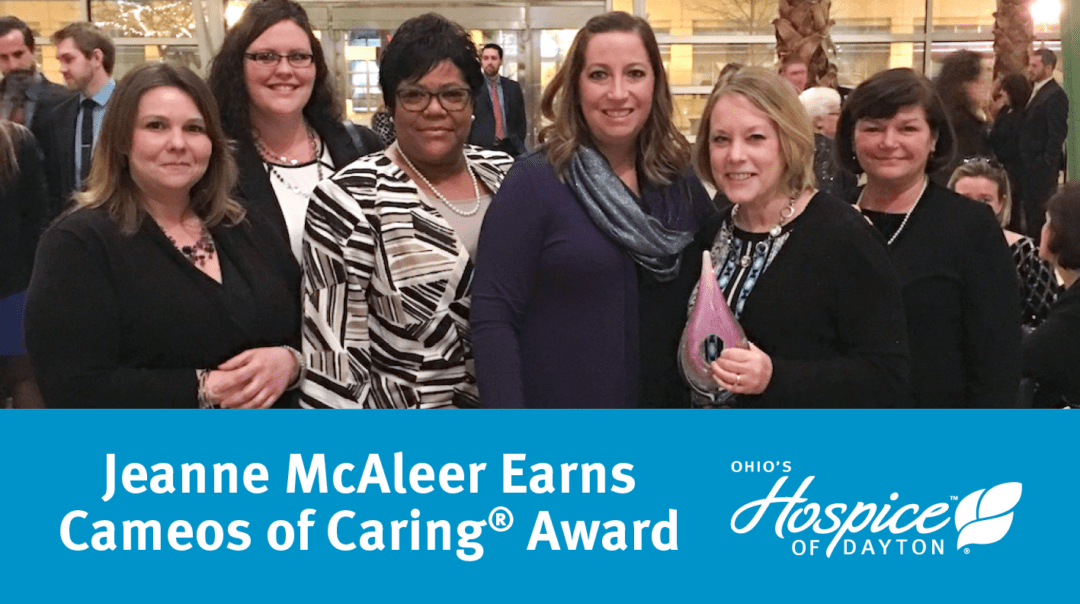 Jeanne McAleer Earns Cameos Of Caring® Award
