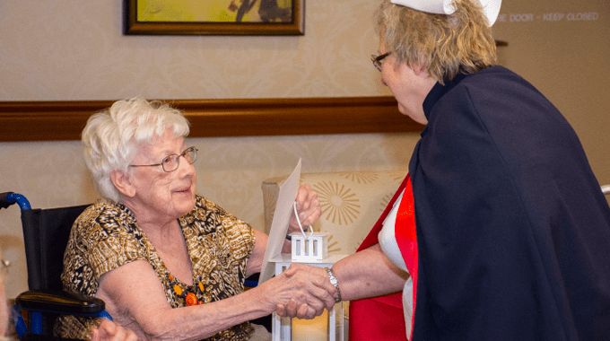 Marceil Kelly - Nursing Honor Guard Tribute