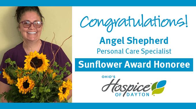 Angel Shepherd - Sunflower Award