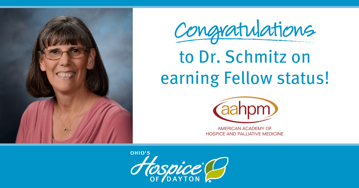 Congratulations To Dr. Wendy Schmitz On Earning Fellow Status!