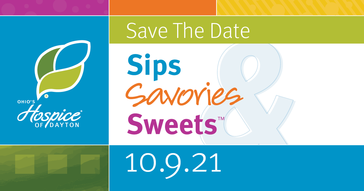 Save the Date! Sips, Savories & Sweets - 10.9.21