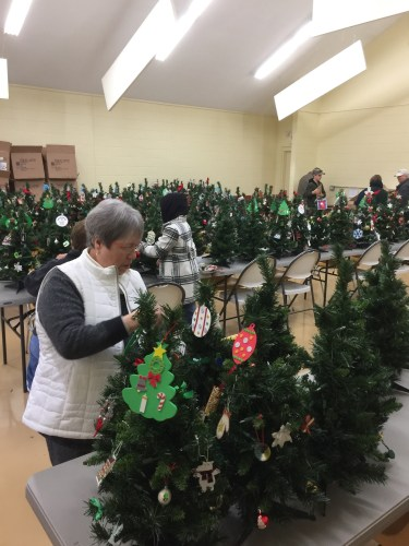 holiday trees celebrating life's stories