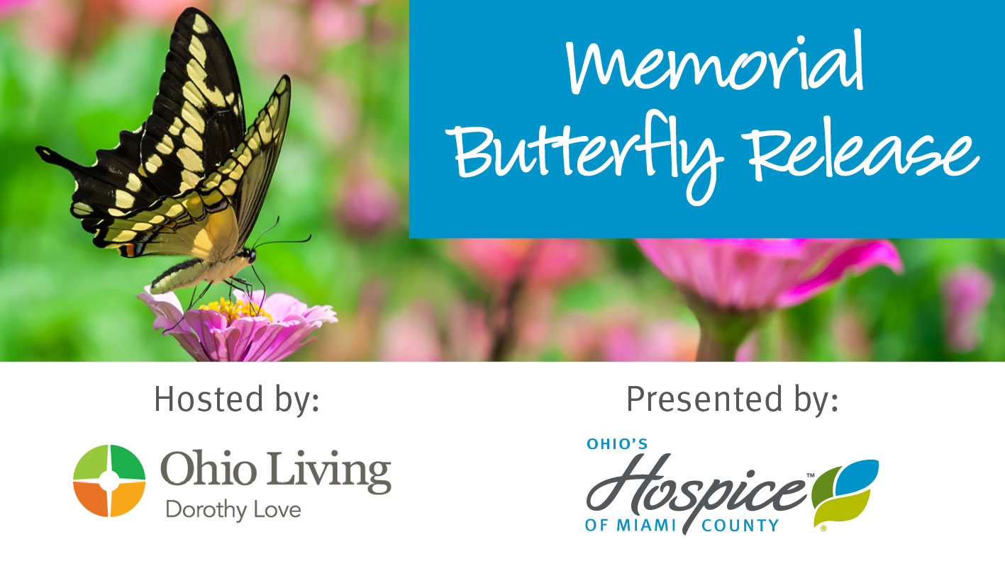 Memorial Butterfly Release To Be Held On September 8 At Ohio Living Dorothy Love