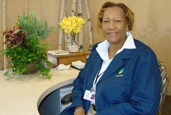 Volunteer At The Front Desk