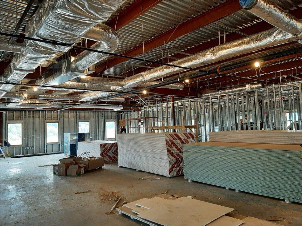 Interior Building Update - Ohio's Hospice of Miami County Hospice House