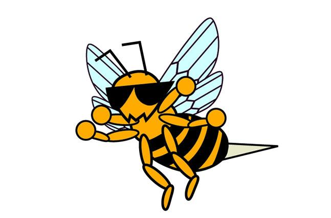 あ つもり ハチ に 刺され た